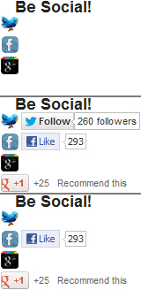Social buttons badly rendered by IE