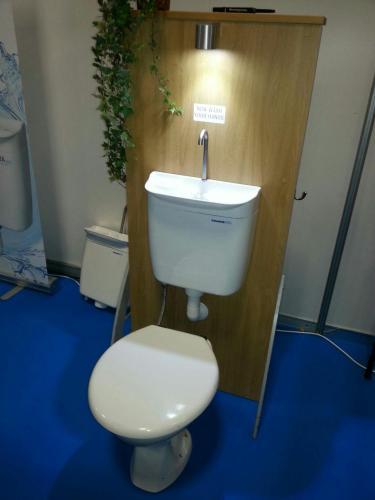 AQUAdue toilet system