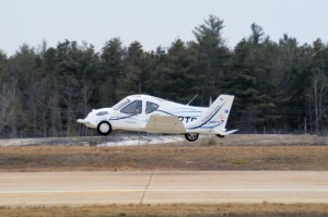The Terrafuggia flying car as an aircraft