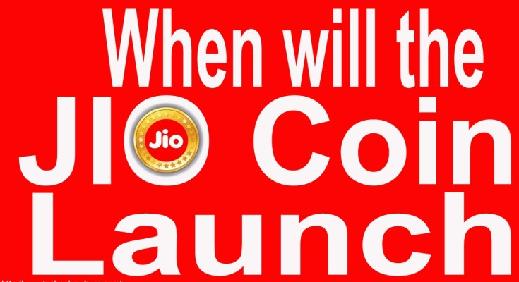 When will the JIO Coin launch