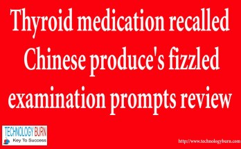 Thyroid medication