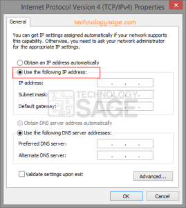 How to Change the IP Address of computer or laptop