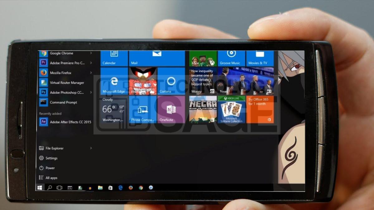 How to install Windows Operating system on Android Phone or tablet