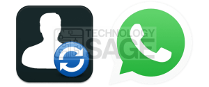 Add WhatsApp Friends Profile Picture To Contacts