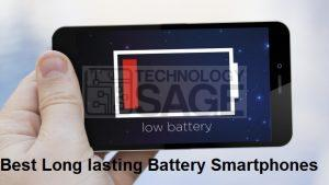 Best Long lasting Battery Smartphones
