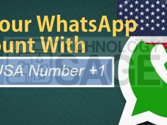 Change Your WhatsApp Number to USA Number