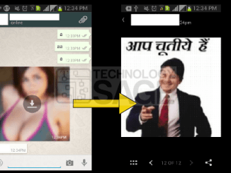 hide two images in one on whatsapp