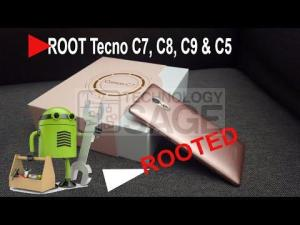 root Tecno C8, C5, C7 and C9