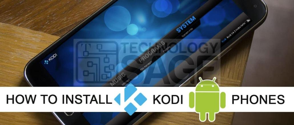 Install Kodi TV on Android Phone