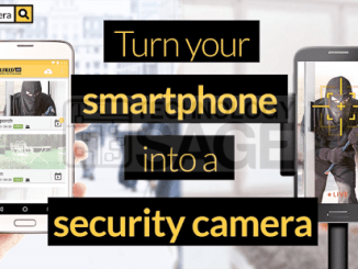 Turn old unused Android phone into a Security or CCTV camera