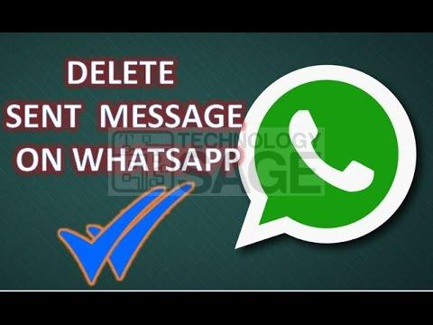 Delete WhatsApp Messages Sent by Mistake Before Recipients Read Them