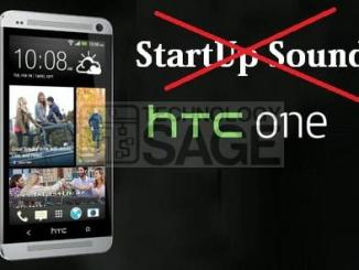 Disable startup sound HTC-One