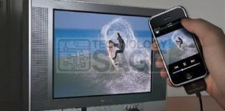 connect Android phone to CRT TV with AV ports