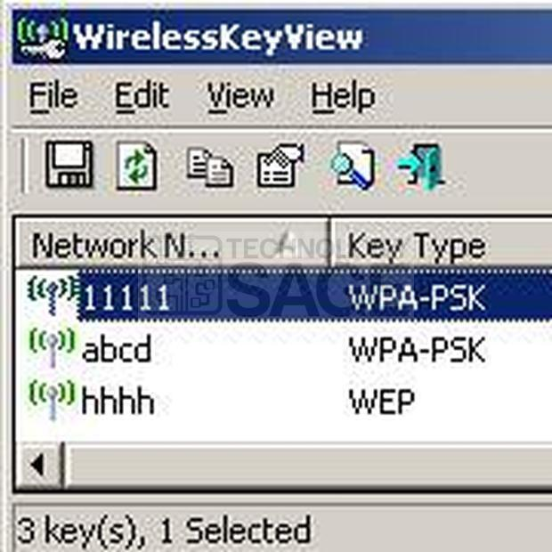 How to view WiFi password on windows 10.