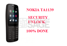 NOKIA TA1139 SECURITY UNLOCK DONE