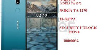 UNLOCK M-KOPA NOKIA 2.4 TA 1270