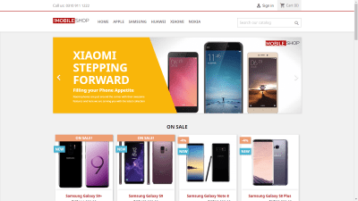 TheMobileShop.com.pk; The one stop for purchasing mobile phones online