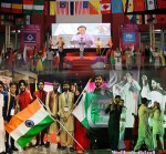 Pakistan represented in an International Cultural Camp