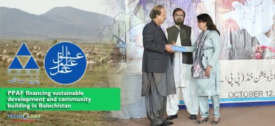 PPAF financing sustainable development and community building in Balochistan