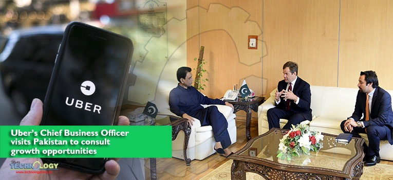 Uber's Chief Business Officer visits Pakistan to consult growth opportunities