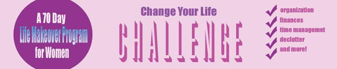 Change Your Life Challenge Logo