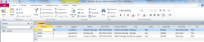 Connect Access database using Visual Studio Application