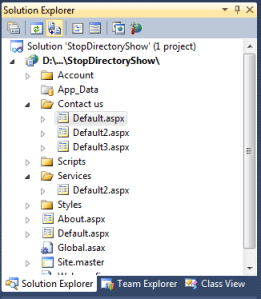 Disable Directory Listing in Asp.Net