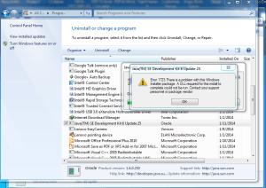 Fix Program Install-Uninstall Related Errors In Windows