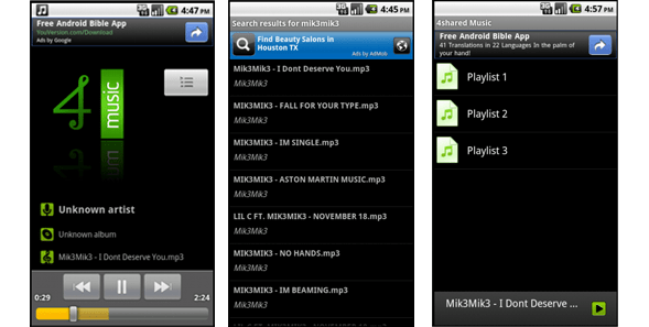 downloader mp3 best android