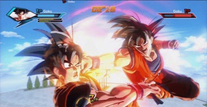 Xenoverse_-_Super_God_Fist_on_Goku