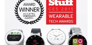 Alcatel Watch - wearable tech award