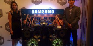 Presentación productos de Audio Samsung