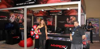 HyperX destaca en la nueva feria de videojuegos AGS