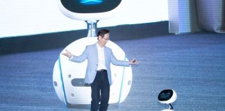 Asus zenbo with asus chairman