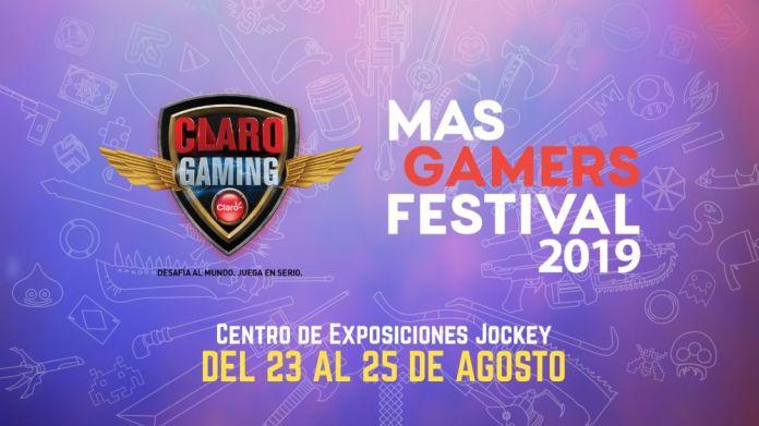 Logo Claro MasGamers Festival 2019