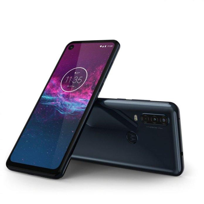 Motorola One Action-ROW-Denim Grey-LAYDOWN COMBO