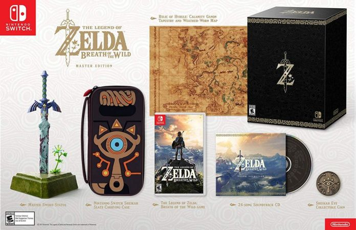 Master Edition de Zelda: Breath of Wild