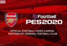 eFootball PES 2020 y Arsenal FC Partnership