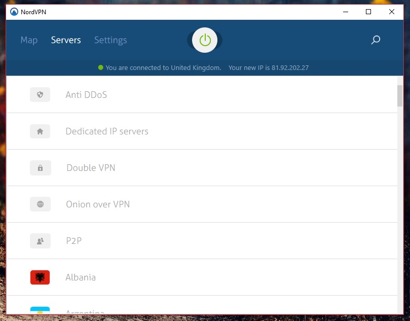 NordVPN Best VPN For Windows 10 With All The Security