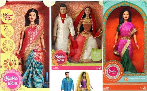Barbie Doll in Indian Attire