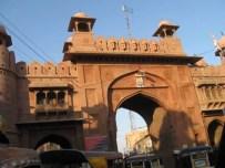 Gates around Bikaner