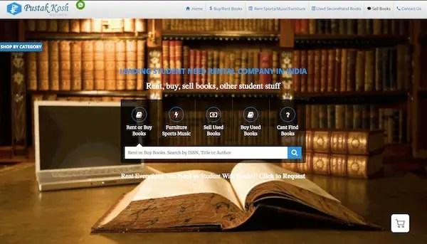 Pustak Kosh Rent Library