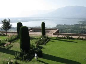 Shalimar gardens dal lake view