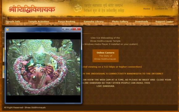 Live Darshan Siddhivinayak Pooja