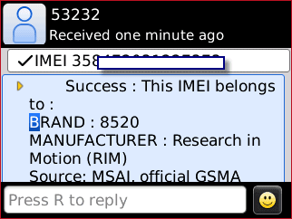 check IMEI Valid