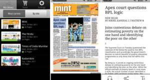 Android app to read world's most popular full-content newspapers