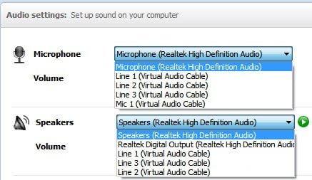 fake speakers microphone Windows