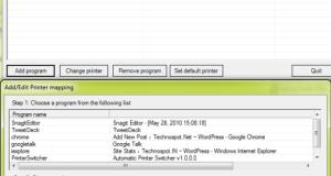 Automatic Print Switcher