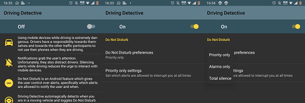 How to automatically enable DND mode while driving on Android Phone