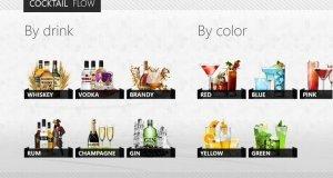 Cocktail Windows 8 App